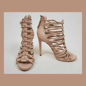Guess strappy pumps